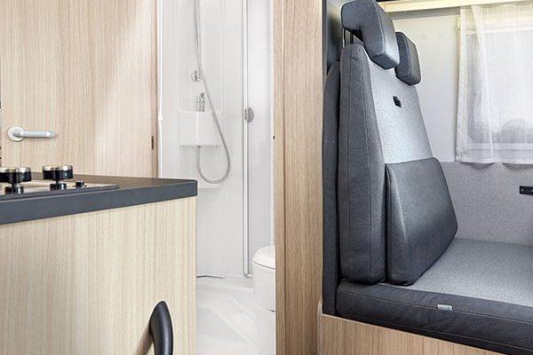 Badezimmer und Sitzecke